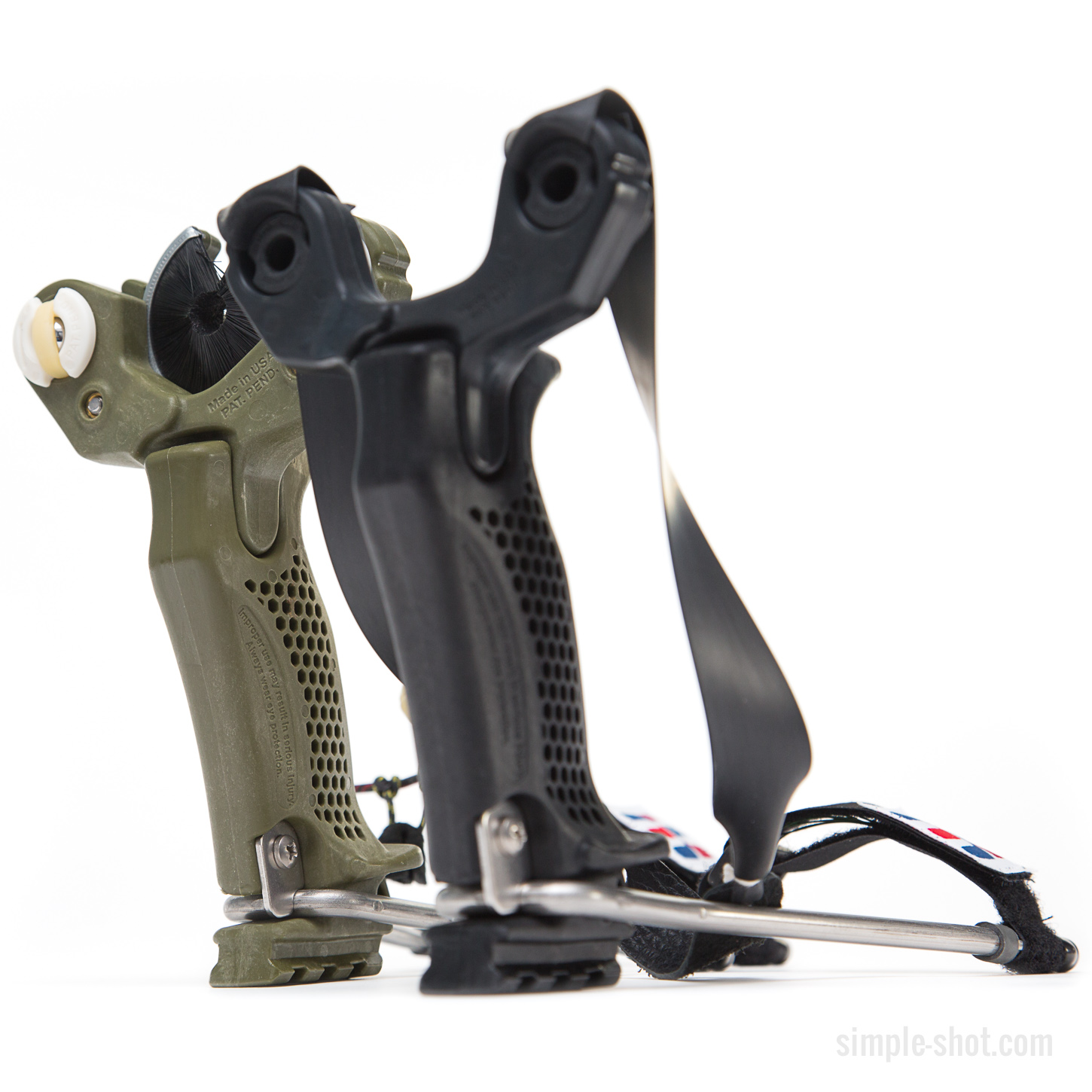 coolest hammer. the slingbow head for new hammer slingshot from simpleshot. coolest