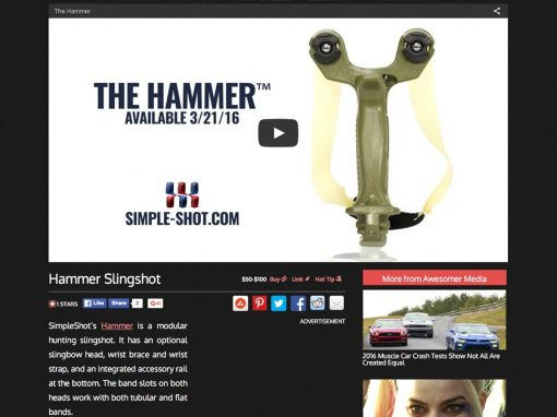The Awesomer Hammer Review