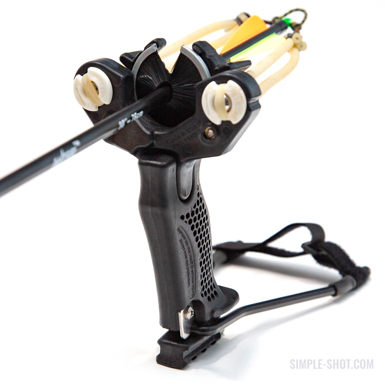 The Hammer Slingbow - Black XT handle and LT head